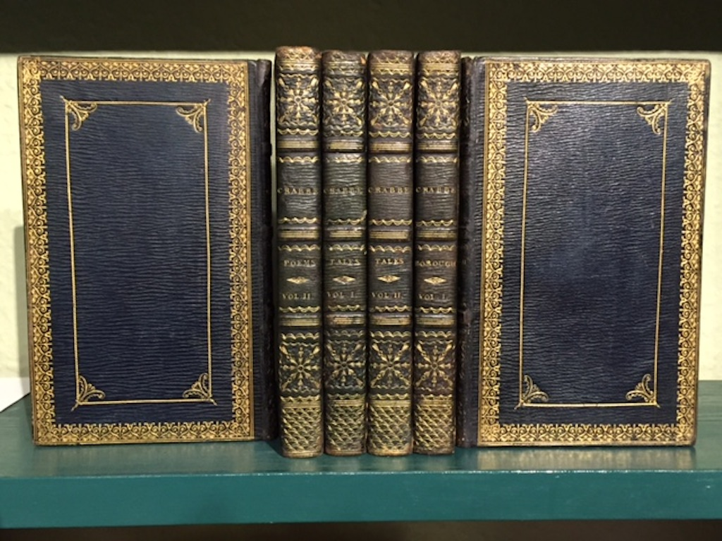 Image for Poems [2 vols], Tales [2 vols], The Borough: A Poem, in Twenty-Four Letters [2 vols]. Six volumes