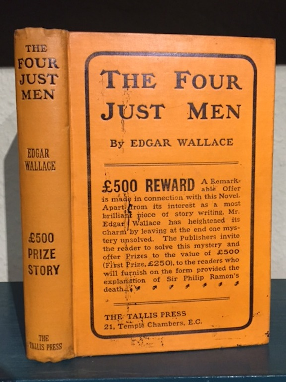 Image for The Four Just Men. £500 Prize Story.