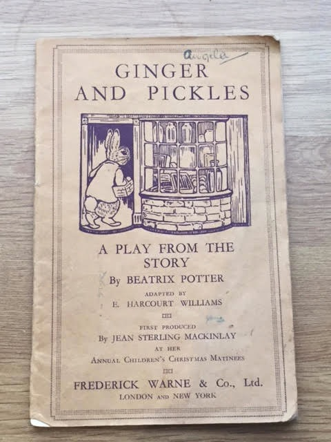 Image for Ginger and Pickles. A Play In One Act From the Story by Beatrix Potter