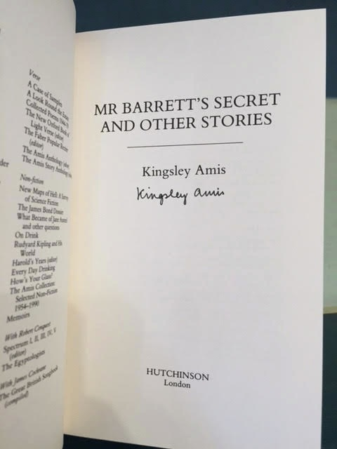 Image for Mr. Barrett's Secret and Other Stories