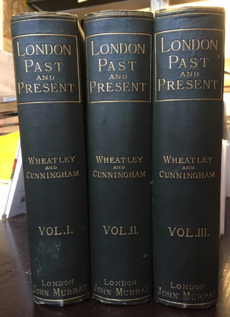 Image for London Past and Present : Its History, Associations, and Traditions. In Three Volumes Based Upon The Handbook of London By The Late Peter Cunningham