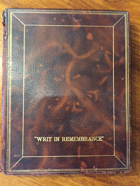 Image for Writ In Remembrance [Original photographs of East Anglia 1902]