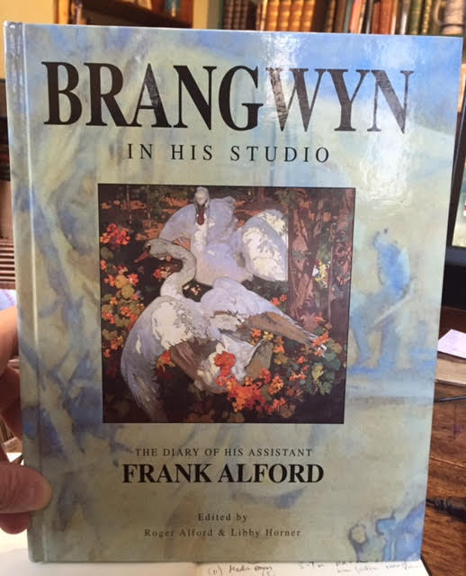 Image for Brangwyn in His Studio : The Diary of His Assistant Frank Alford