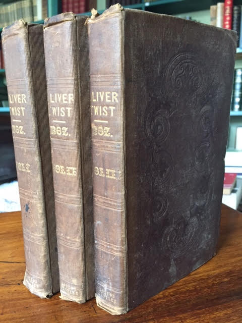 Image for Oliver Twist. In three volumes