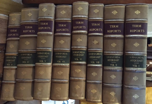 Image for Reports of Cases Argued and Determined in the Court of King's Bench... Eight volumes