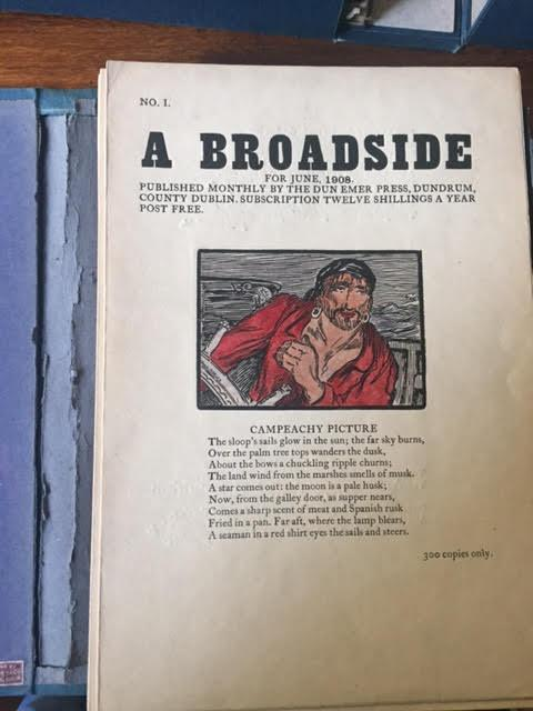 Image for A Broadside. A complete set of 84 monthly numbers.