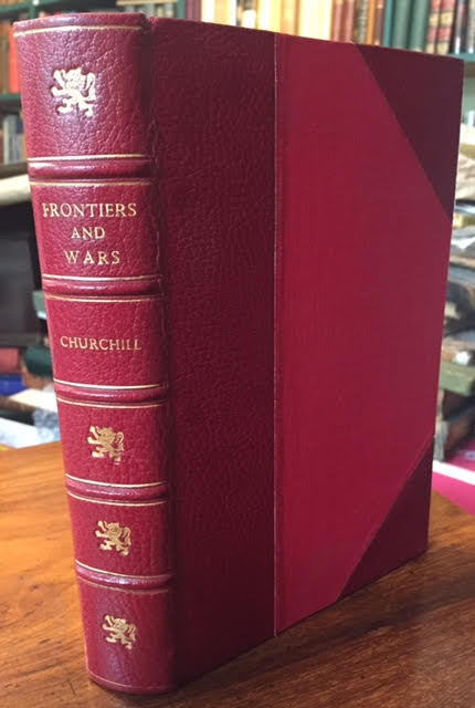 Image for Frontiers and Wars : His Four Early Books Covering his Life as Soldier and War Correspondent. Edited Into One Volume