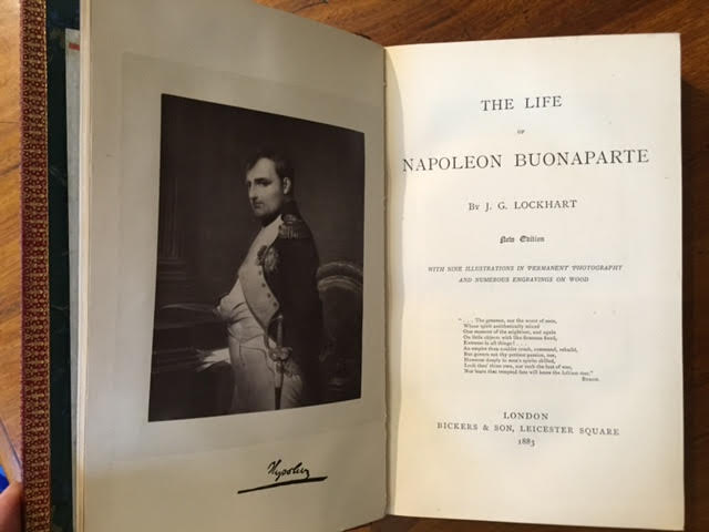 Image for The Life of Napoleon Buonaparte