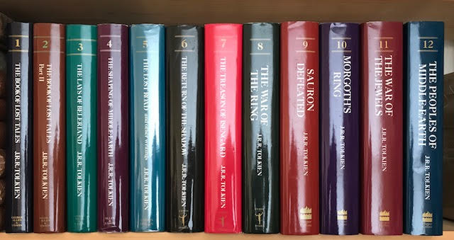 Image for The History of Middle-Earth. In twelve volumes complete
