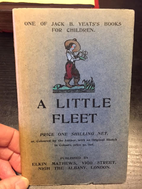 Image for A Little Fleet : One of Jack B. Yeat's Books for Children