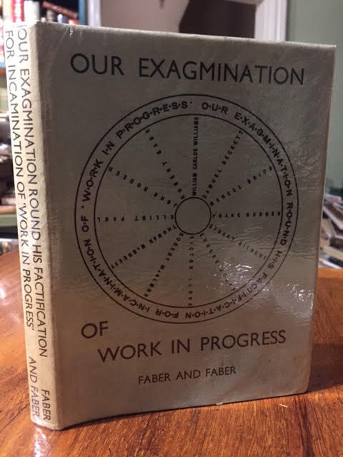 Image for Our Exagmination Round His Factification For Incamination of Work in Progress : With Letters of Protest by G. V. L. Slingsby and Vladimir Dixon