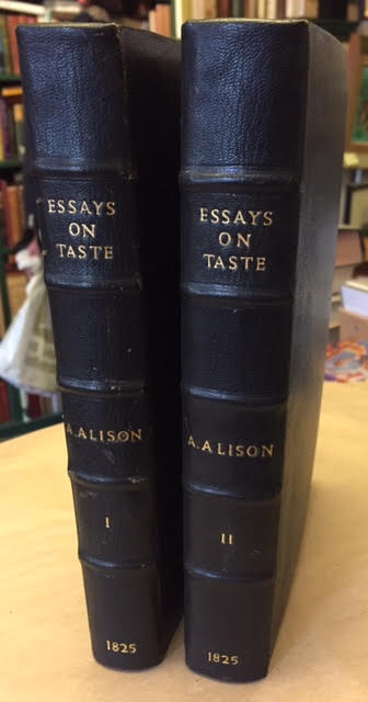 Essays on the Nature and Principles of Taste. In two volumes