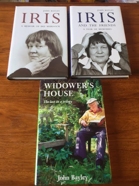 Image for Iris : A Memoir of Iris Murdoch [and] Iris and the Friends : A Year of Memories [and] Widower's House : The Last in a Trilogy. Three volumes