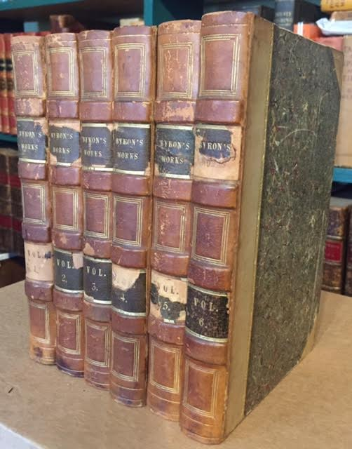 Image for The Works of Lord Byron. In six volumes