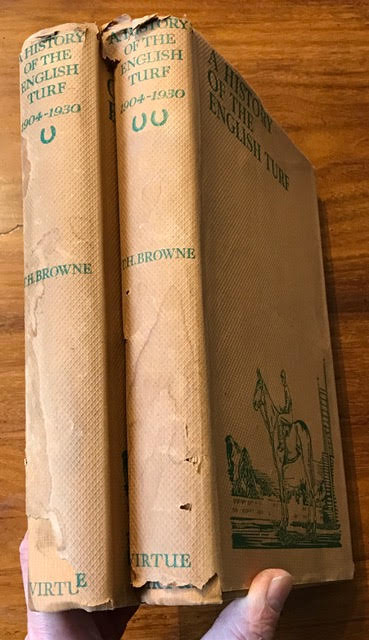 Image for History of the English Turf 1904-1930. In two volumes