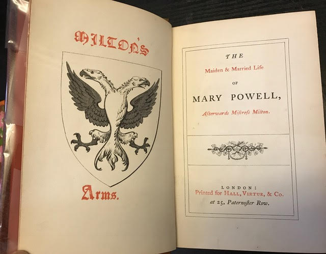 Image for The Maiden and Married Life of Mary Powell, afterwards Mistress Milton
