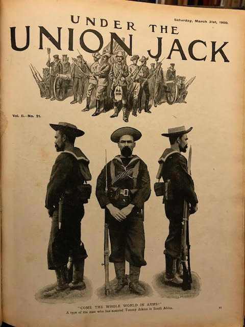 Image for Under The Union Jack (published weekly). Descriptive and Illustrative of the Campaign in South Africa -  The Second Boer War November 1899 to July 1900 in  2 Volumes Descriptive and Illustrative of the Campaign in South Africa