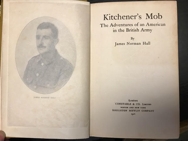 Image for Kitchener's Mob : The Adventures of an American in the British Army