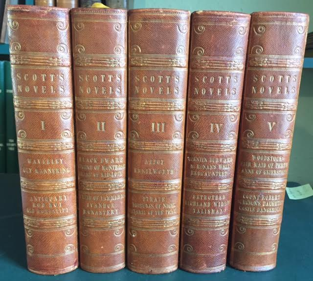 Image for The Novels of Sir Walter Scott, Bart., with all his Introductions and Notes. In five volumes [Waverley Novels]