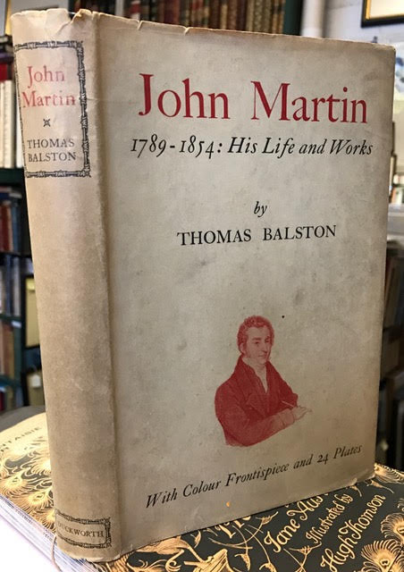 Image for John Martin: 1789-1854: His Life and Works