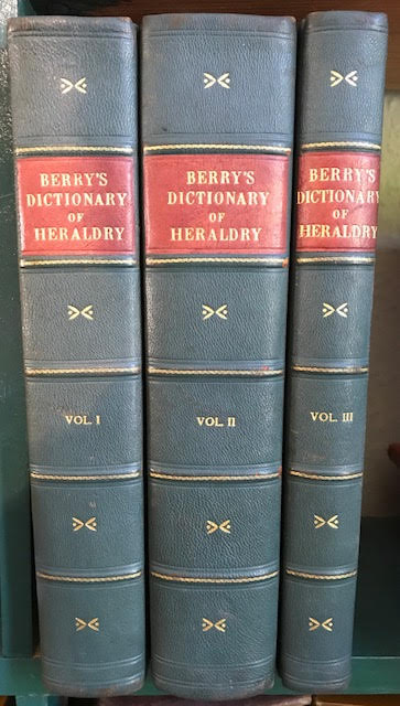Image for Encyclopoedia Heraldica : Complete Dictionary of Heraldry. In three volumes