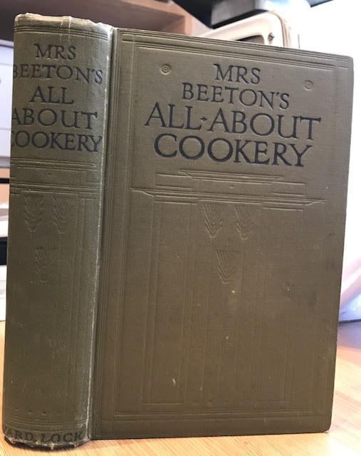Image for Mrs Beeton's All About Cookery - with Over 2000 Practical Recipes