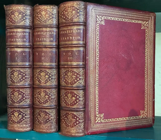 Image for The Works of Shakespeare. In three volumes