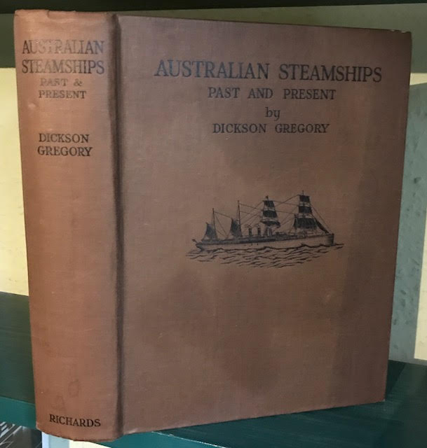 Image for Australian Steamships : Past and Present