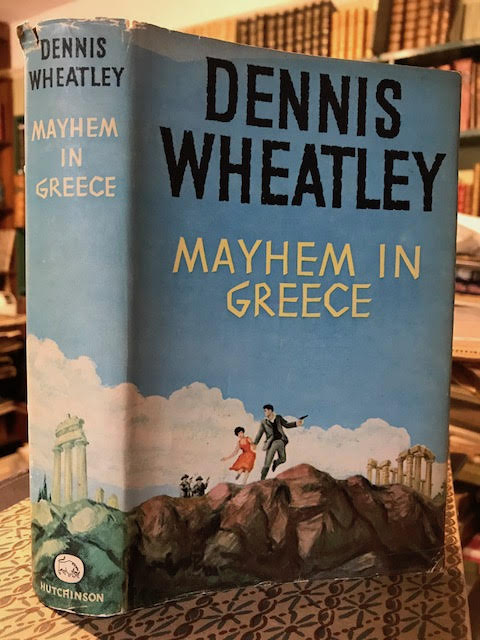 Image for Mayhem in Greece