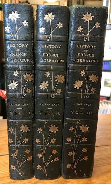 Image for History of French Literature. In three volumes