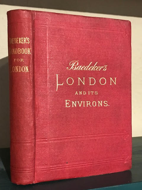 Image for London and Its Environs : Including Excursions to Brighton, the Isle of Wight, etc.