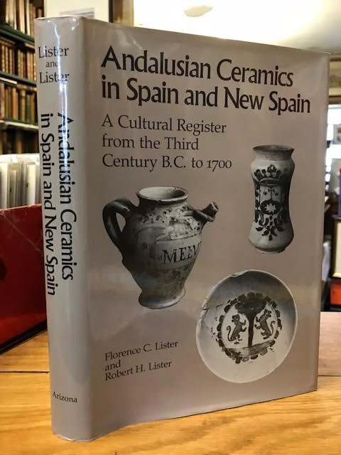 Image for Andalusian Ceramics in Spain and New Spain : A Cultural Register from the Third Century B.C. to 1700