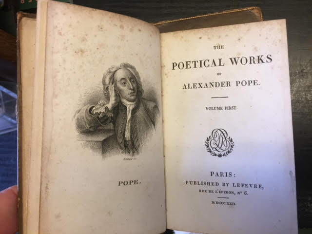 Image for The Poetical Works of Alexander Pope