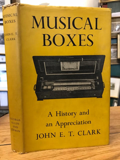 Image for Musical Boxes a History and Appreciation
