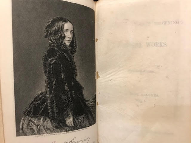 Image for Elizabeth Barrett Browning's Poetical Works. In five volumes