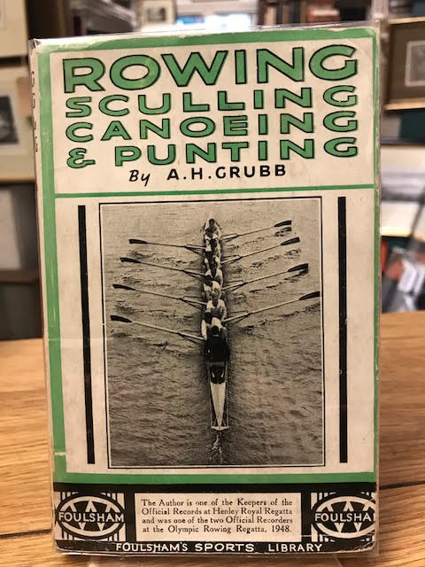 Image for Rowing Sculling Canoeing and Punting : Foulsham's Sports Library