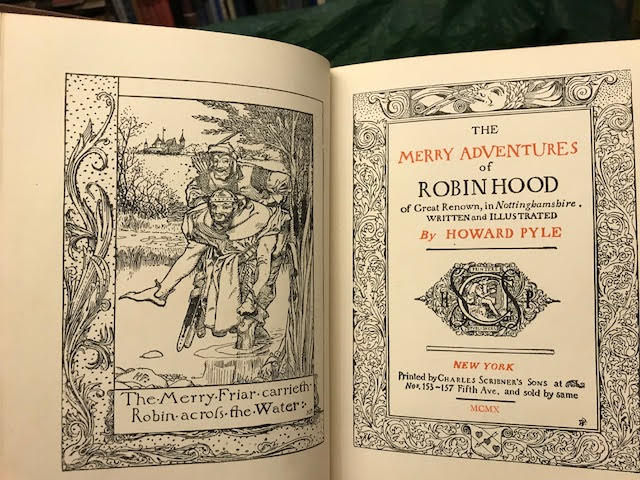 Image for The Merry Adventures of Robin Hood : Of Great Renown, in Nottinghamshire