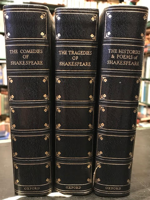 Image for The Comedies. The Histories and Poems. The Tragedies. In three volumes
