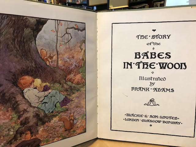 Image for The Story of the Babes in the Wood