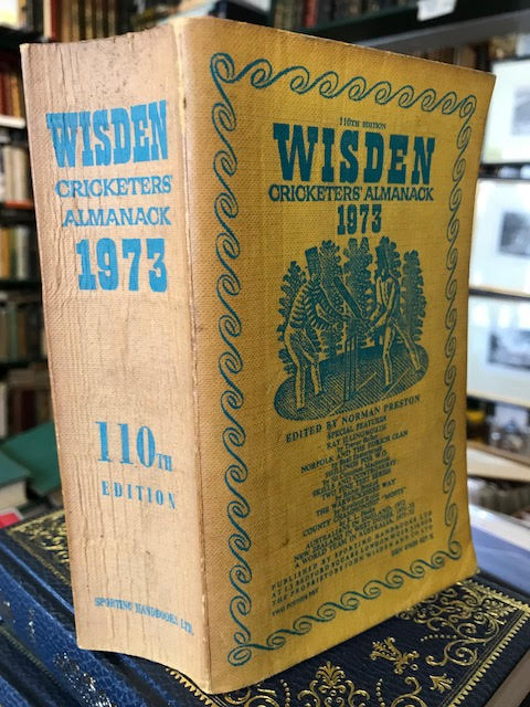 Image for Wisden Cricketers' Almanack 1973