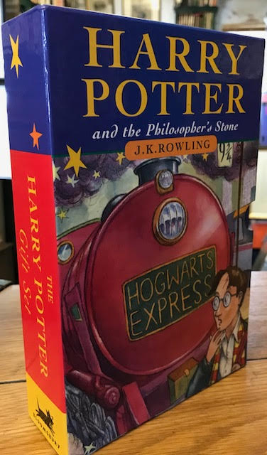 Image for Harry Potter and the Philosopher's Stone. Harry Potter and the Chamber of Secrets. : The Harry Potter Gift Set. Two volumes in slipcase