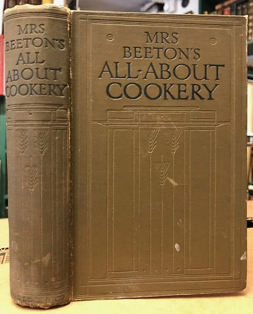 Image for Mrs. Beeton's All-About Cookery : With Over 2,000 Practical Recipes