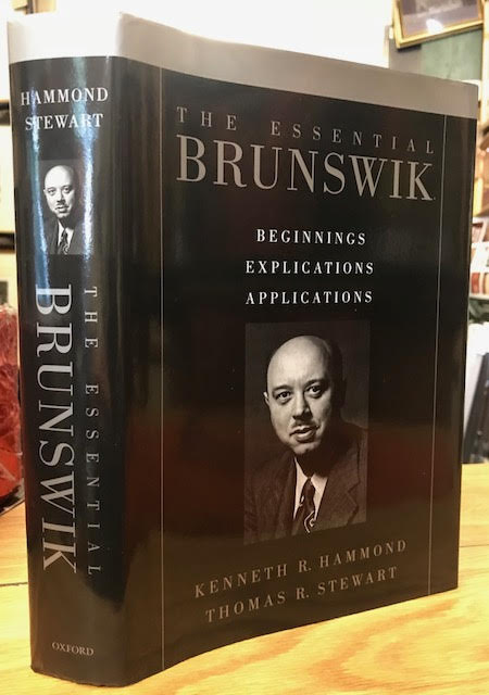 Image for The Essential Brunswik : Beginnings, Explications, Applications