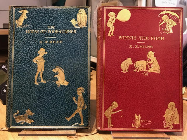 Image for Winnie-the-Pooh [and] The House at Pooh Corner. Two volumes