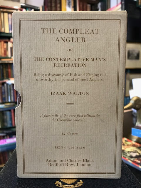 Image for The Compleat Angler or the Contemplative Man's Recreation A Facsimilie of the Rare First Edition in the Grenville Collection