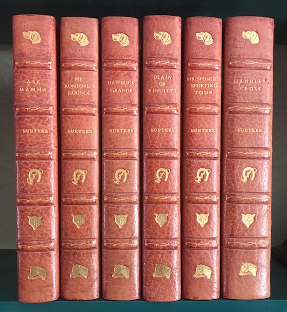 Image for Ask Mamma. Handley Cross. Mr. Romford's Hounds. Hawbuck Grange. Mr. Sponge's Sporting Tour. Plain or Ringlets. In six volumes