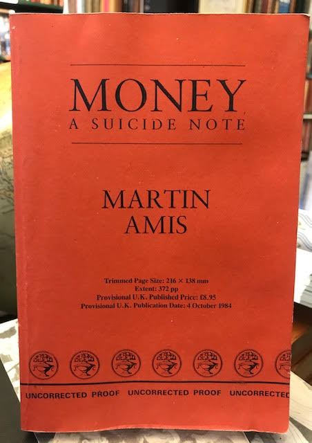 Image for Money : A Suicide Note