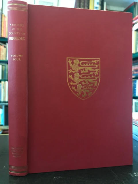 Image for A History of the County of Middlesex : Volume IV