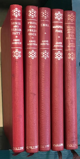 Image for Novels : Pride and Prejudice. Sense and Sensibility. Emma. Mansfield Park. Northanger Abbey and Persuasion. Complete in five volumes
