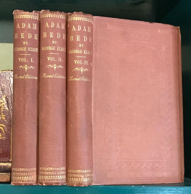 Image for Adam Bede. In three volumes